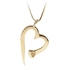 Nail Heart | Sterling Silver £75.00 | 14K Gold  POA